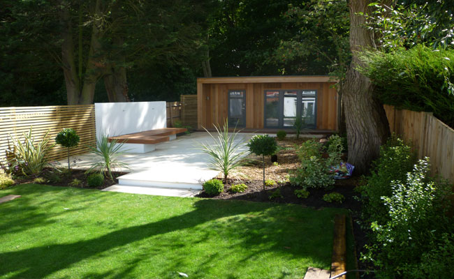 office garden design. Garden Office Construction N1,N4,N5,N8 And Design - London Town Gardens Expert Landscape Designers,