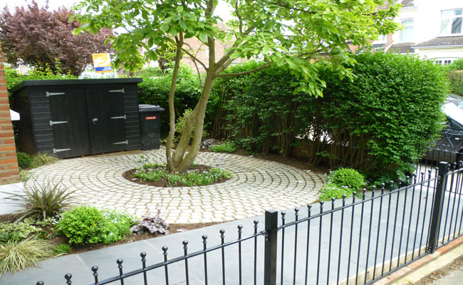 Front Garden Ideas London garden design consultants | front garden designers - london town